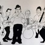 The Syncopators Melbourne Jazz Band Cartoon