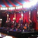The Syncopators at the Spiegeltent